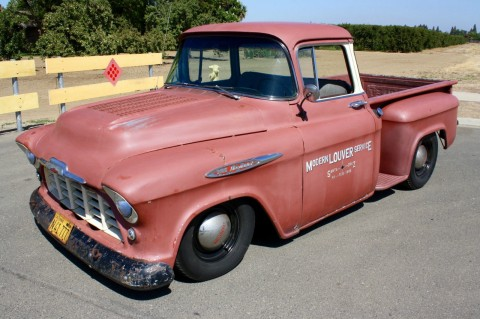 1957 Chevrolet Big Window V8 Pickup, California Truck, Hot Rod, Daily Driver for sale