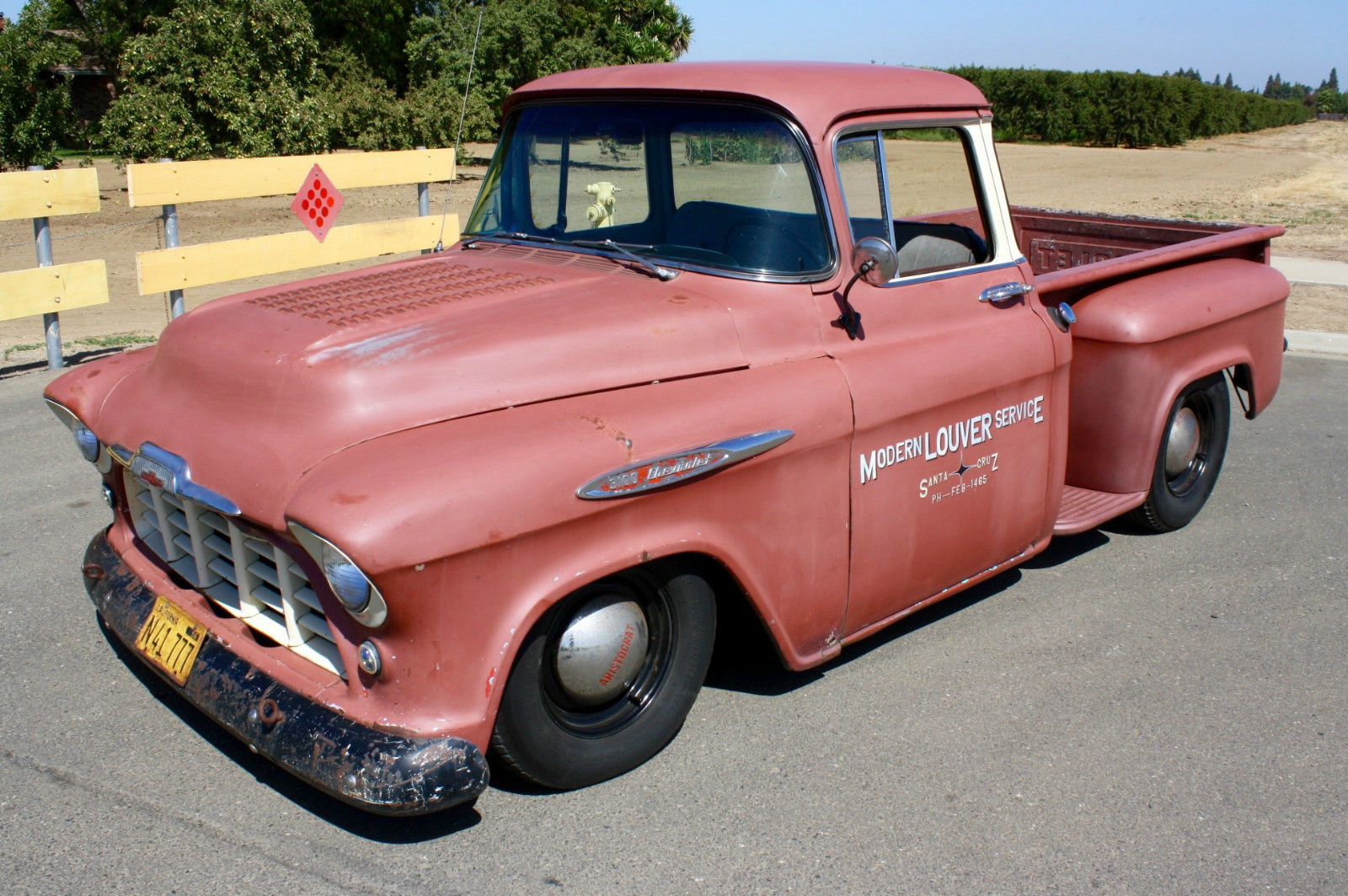 1957 Chevrolet Big Window V8 Pickup, California Truck, Hot ...
