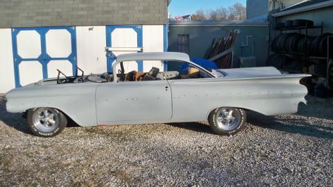 1959 Chevrolet Impala 1959 Impala 348 3 Deuce Resto Project hot rod Extr for sale