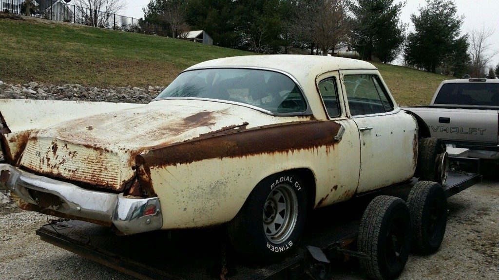 1959 Studebaker Silver hawk rat rod hot rod