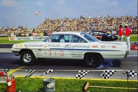 "1961 Pontiac Ventura NHRA National Record Holder ""Documented"" Race Car for sale"