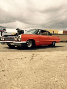 1963 SS Impala Pro Street Hot Rod Blown BBC Pro Touring Coupe for sale