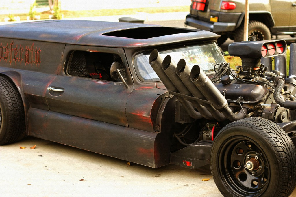 1966 Chevrolet C 10 Hot Rod Rat Rod ldquo Nosferatu rdquo for sale