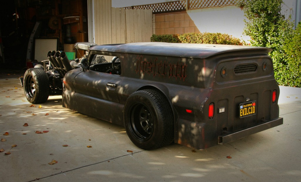 1966 chevrolet c 10 hot rod  rat rod  u201cnosferatu u201d for sale