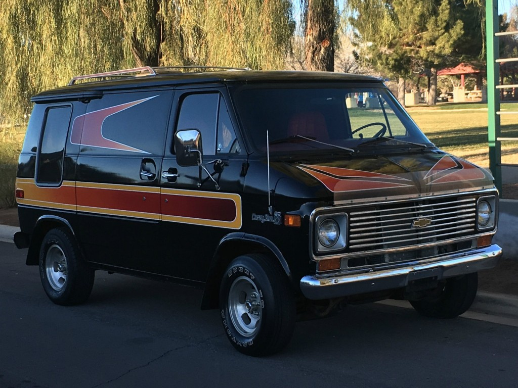 1977 chevrolet g20 van hotrod shag survivor for sale. Black Bedroom Furniture Sets. Home Design Ideas