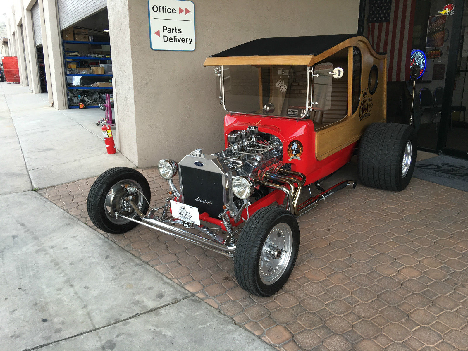 1917 ford woody hot rod for sale. Black Bedroom Furniture Sets. Home Design Ideas
