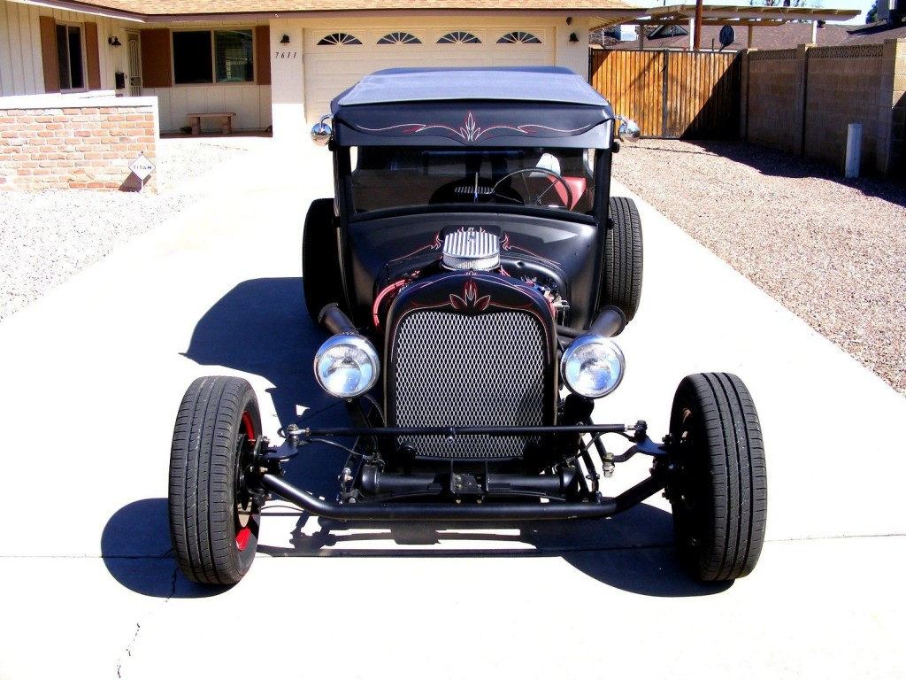 1927 Ford Model T 2D Sedan Rat Rod Style Hot Rod Chopped