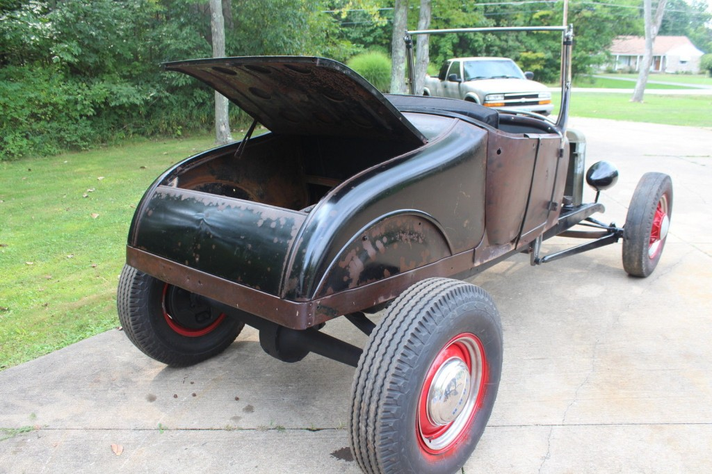 1927 Ford Model T original hot rod
