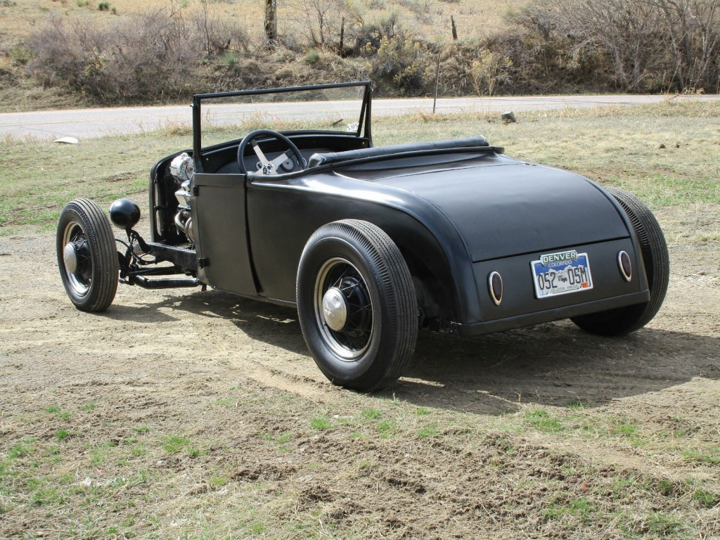 1928 Ford Model A Roadster Hot Rod