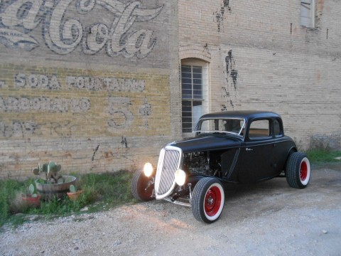1934 FORD Model B Coupe Traditional Hot Rod Flathead Street Rod for sale