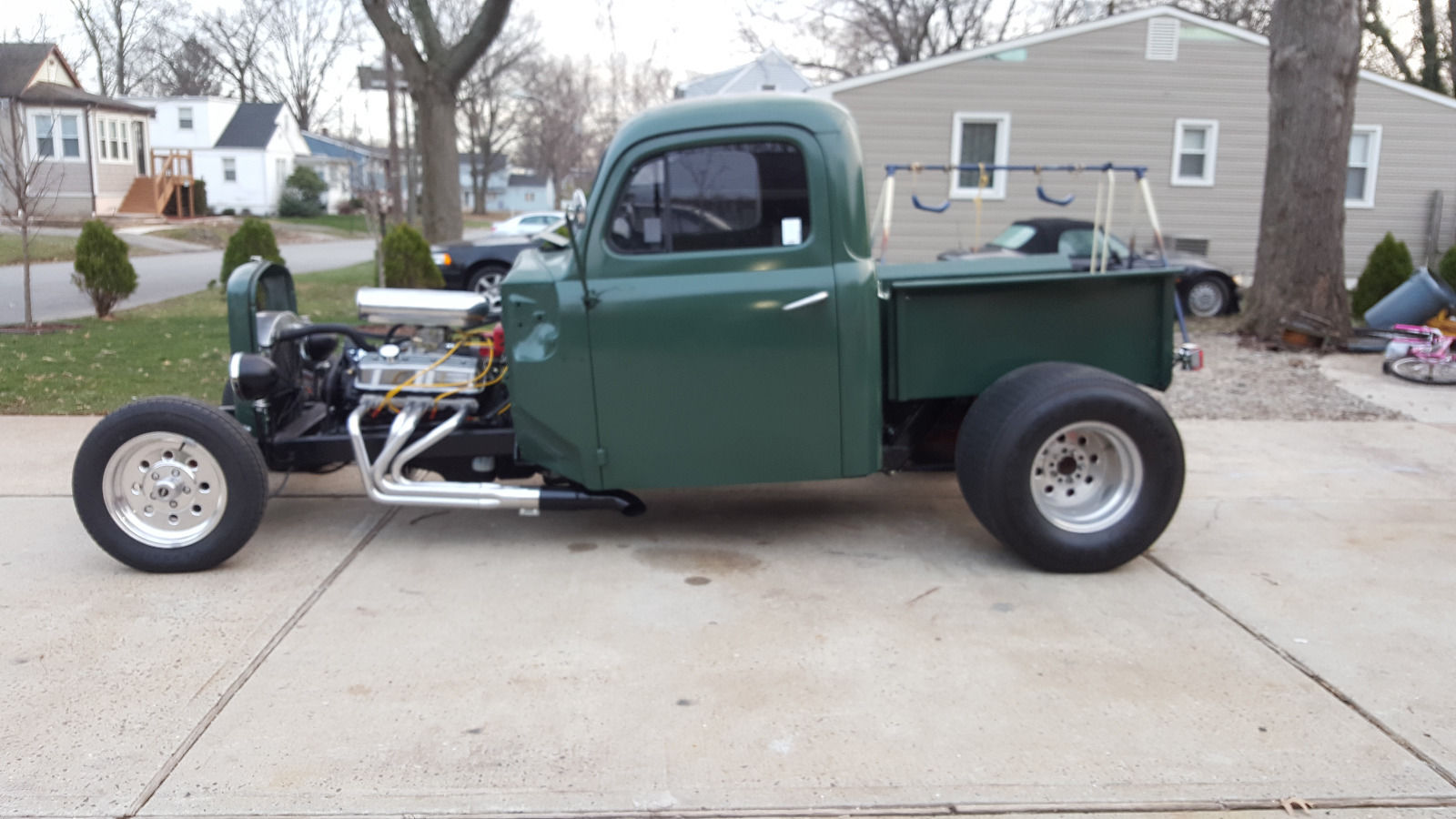 1949 Ford F1 Street Rod Prostreet Tubbed Rat Rod Retro Rod