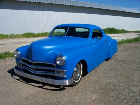 1950 Plymouth Business Coupe Chopped hot rod custom for sale