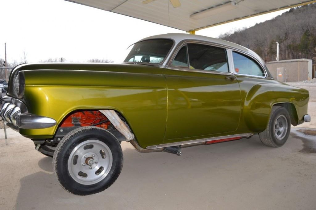 1954 Chevy Bel Air Gasserhot Rot Project