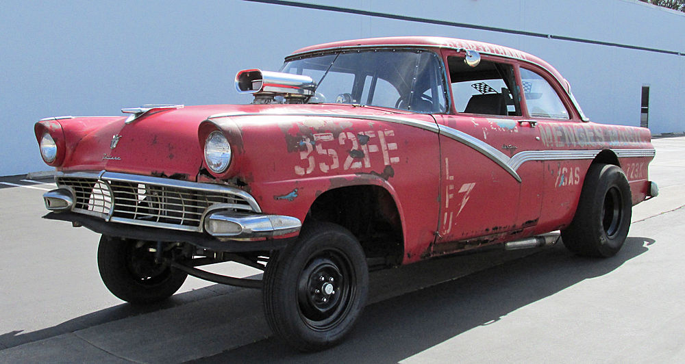 1956 ford fairlane hot rod gasser for sale
