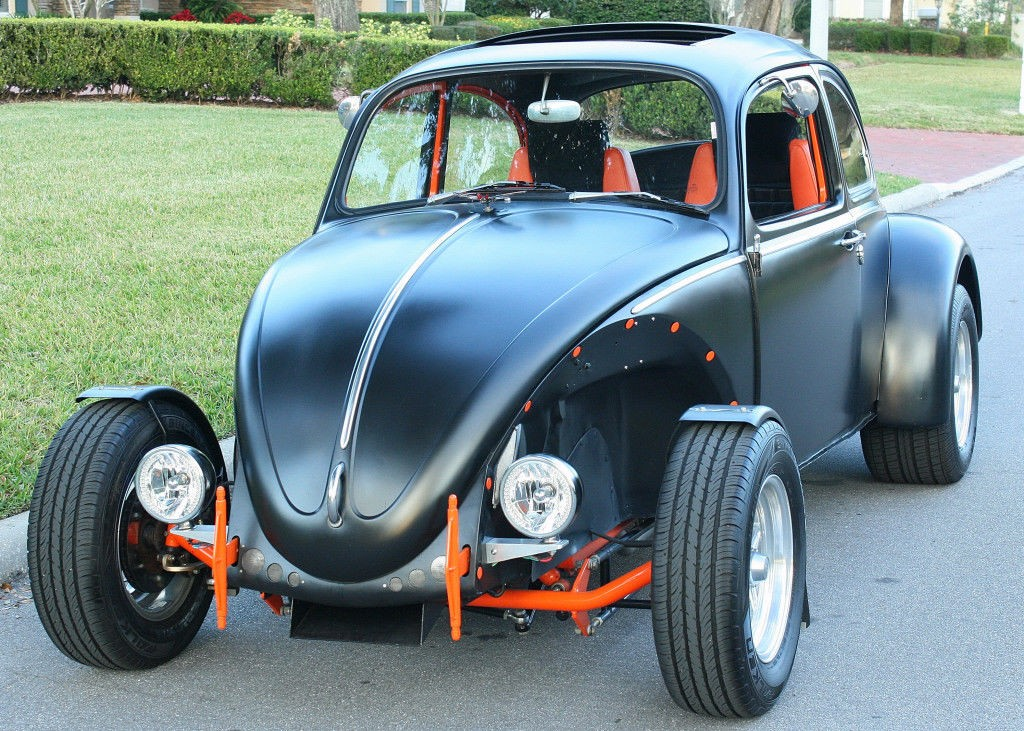 1966 Volkswagen Beetle Classic Hotrod Toyota Conversion for sale