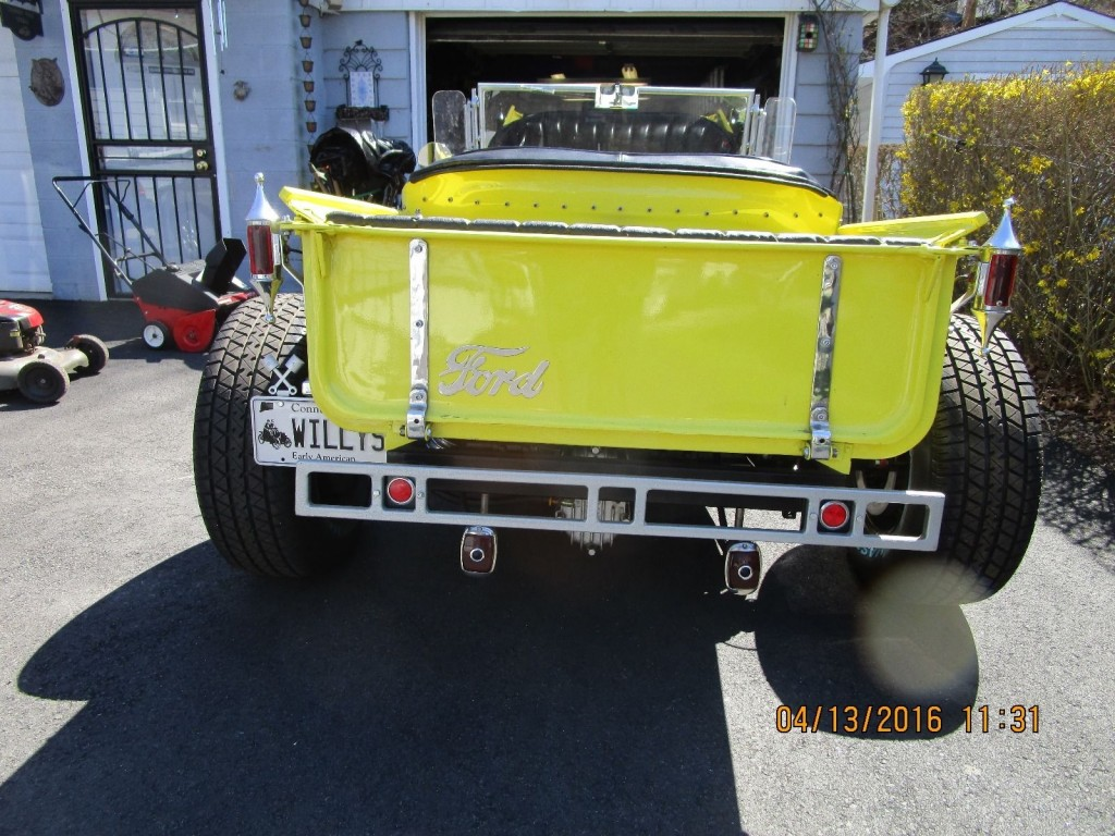 1927 All Steel Ford Roadster Hot Rod Old School Pickup For