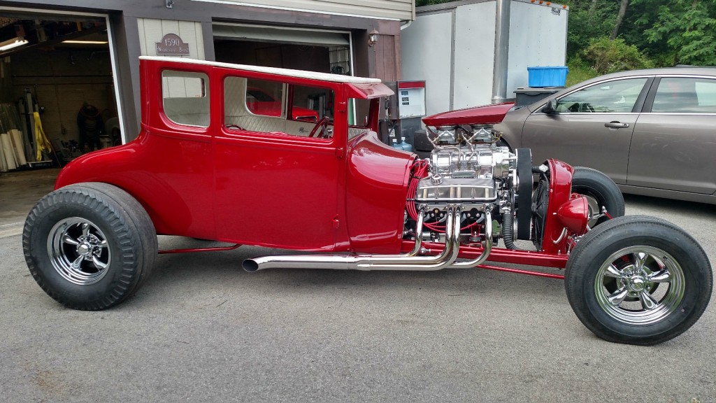 1927 ford model t coupe hot rod hot rods for sale