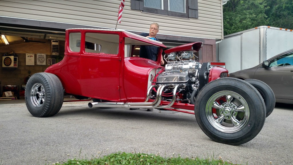 1927 Ford Model T Coupe Hot Rod