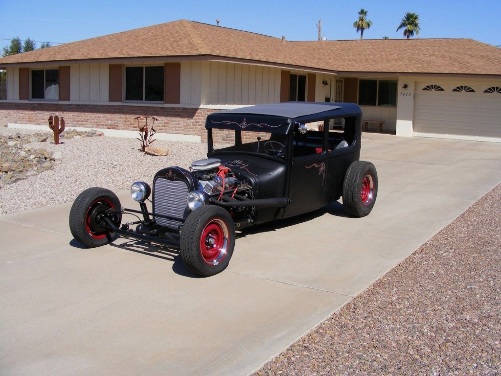1927 Ford Model T Sliding Ragtop Rat Rod Hot Rod