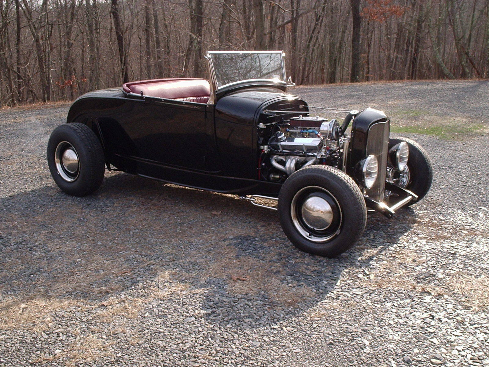 1929 Ford A V8 Hot Rod Roadster/All Steel on 32 Frame for sale