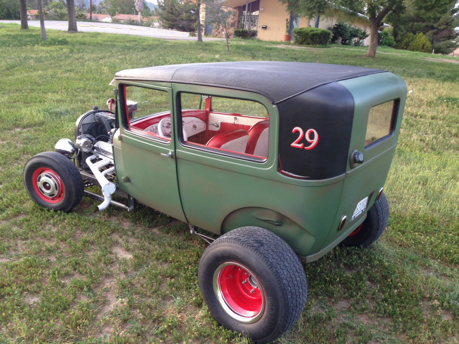 1929 Ford Model A All Steel Hot Rod For Sale