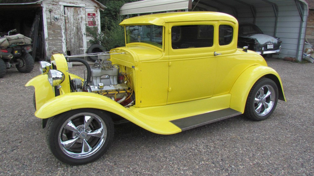 1930 Ford Model A 5 Window Coupe Hot Rod For Sale