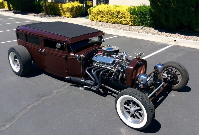 1930 Ford Model A Fordor Rat Rod For Sale