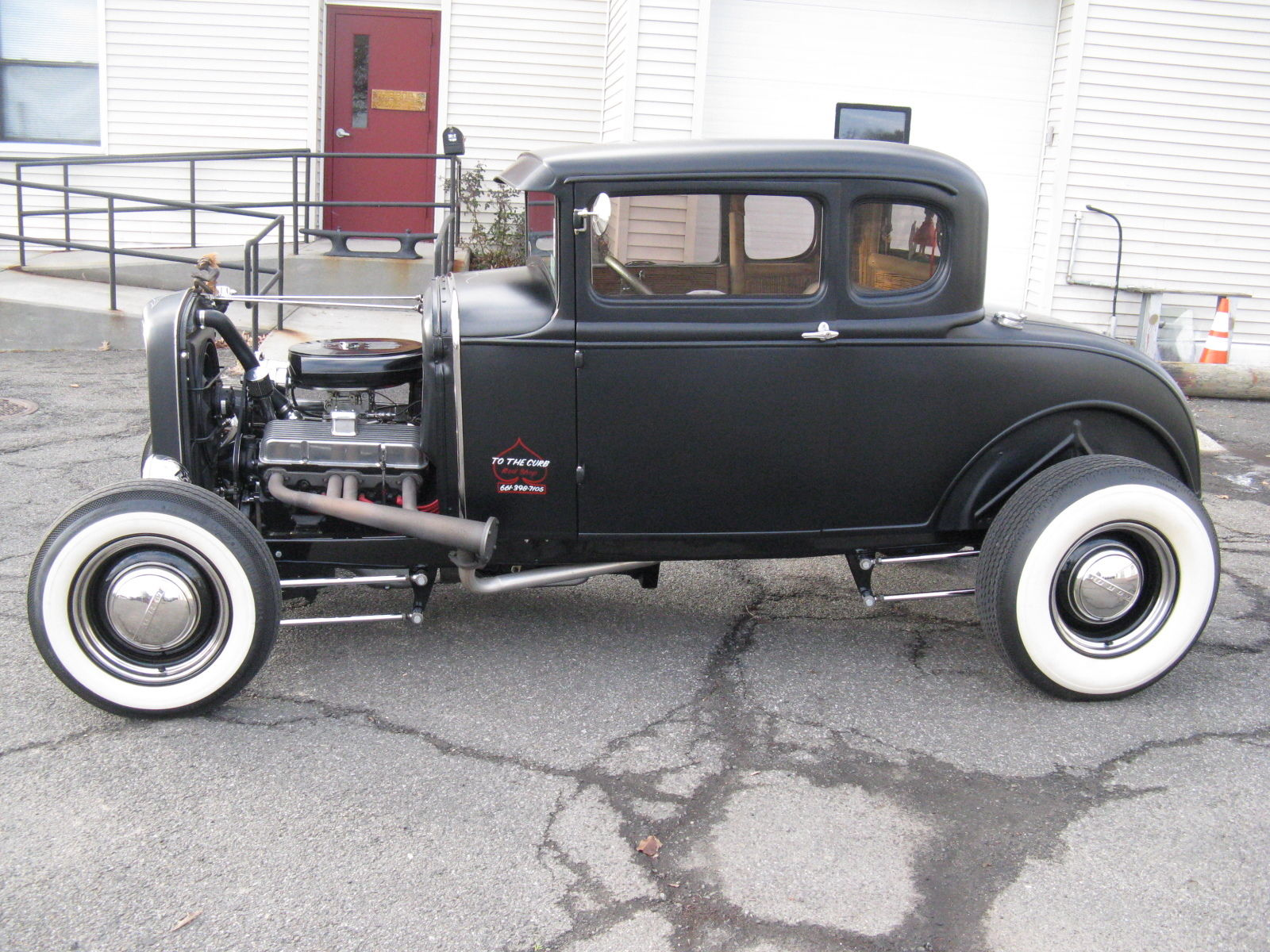 1930 ford model a hiboy coupe streetrod gasser for sale. Black Bedroom Furniture Sets. Home Design Ideas