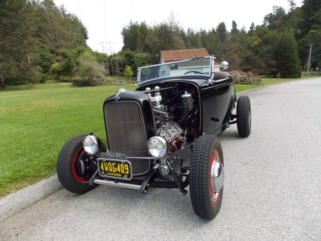 1932 Ford Roadster V8 Hot Rod 1940's Style