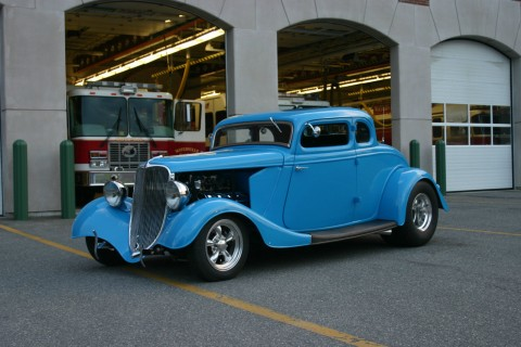 1933 Ford 5 Window Coupe HEMI Powered Hot Rod for sale