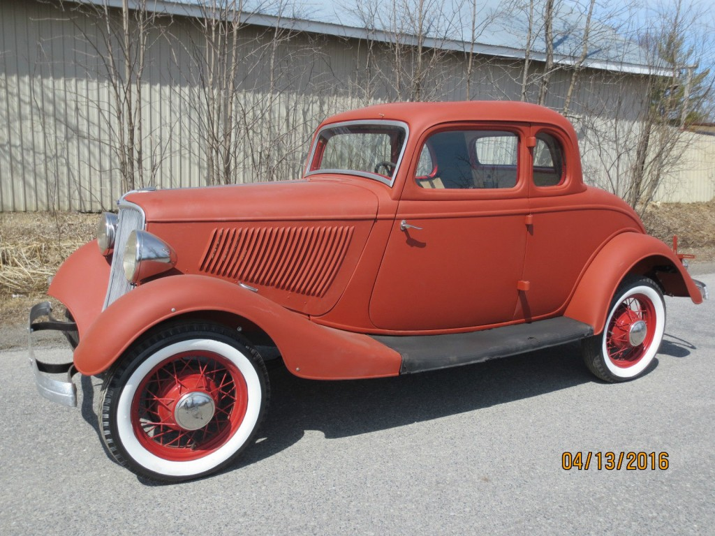 1933 Ford 5w Coupe Project Car Hot Rod For Sale