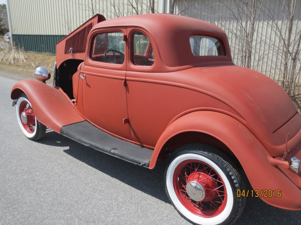 1933 ford 5w coupe project car hot rod for sale for Windows 4 sale