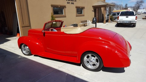 1939 Ford cabriolet hot rod for sale