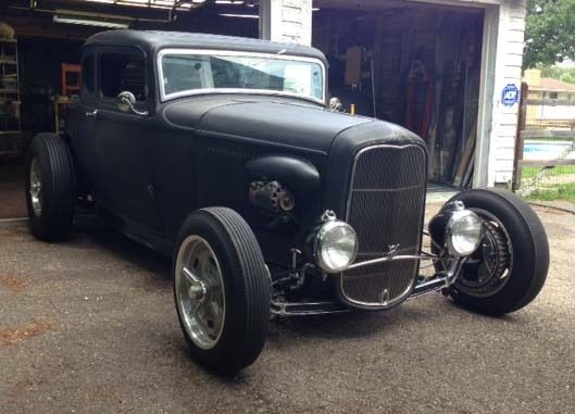1932 Ford 5 Window Coupe Bonneville Hot Rod for sale