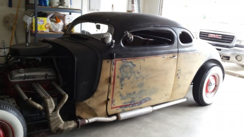 1937 Plymouth Coupe Rat Rod Hot Rod Classic for sale