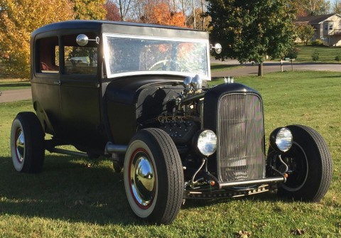 1929 Model A Ford Tudor V8 Hot Rod for sale