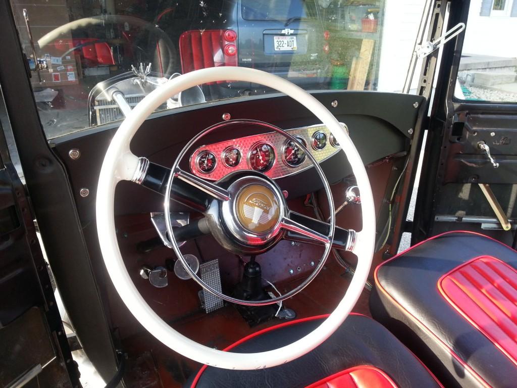 1929 Model A Ford Tudor V8 Hot Rod For Sale