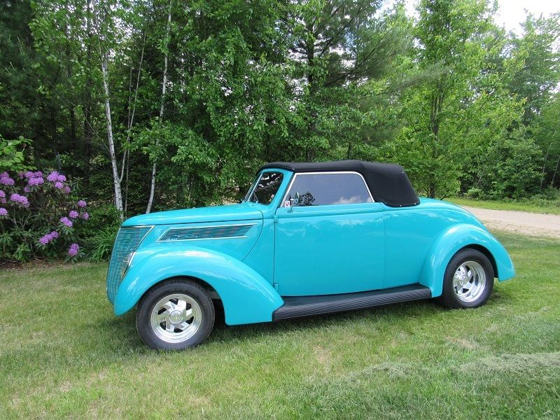 1937 Ford Rumble Seat Hot Rod For Sale