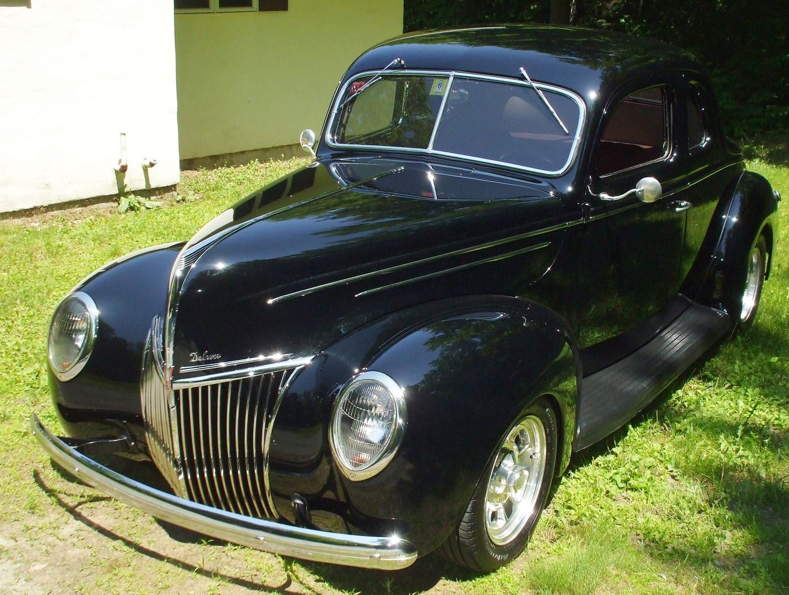 1939 ford deluxe coupe hot rod for sale. Black Bedroom Furniture Sets. Home Design Ideas