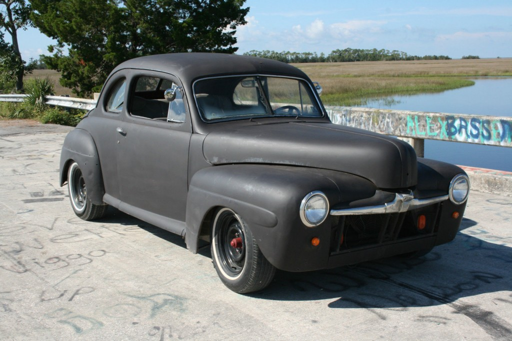 1946 ford coupe hot rod rat rod for sale