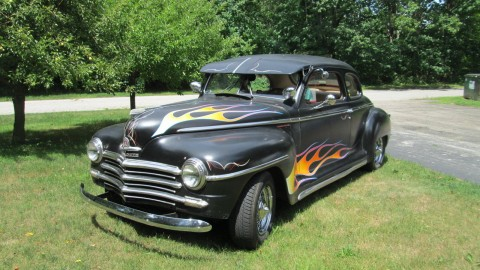 1948 Plymouth Club Coupe Hot Rod for sale