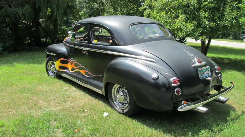 1948 Plymouth Club Coupe Hot Rod