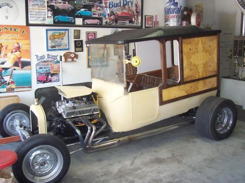 1923 Ford Model T Fad T Woody / Woodie Depot Hack Hot Rod for sale
