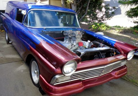 1957 Ford Courier Sedan Hot Rod project car for sale