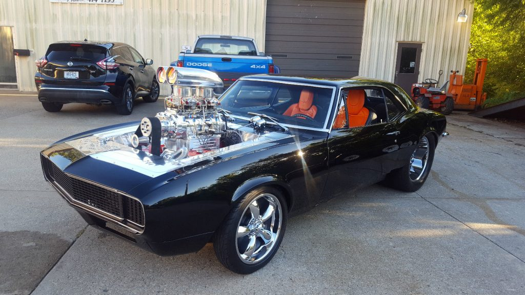 Pro Street Blown Big Block 1967 Chevrolet Camaro Sport Coupe For Sale