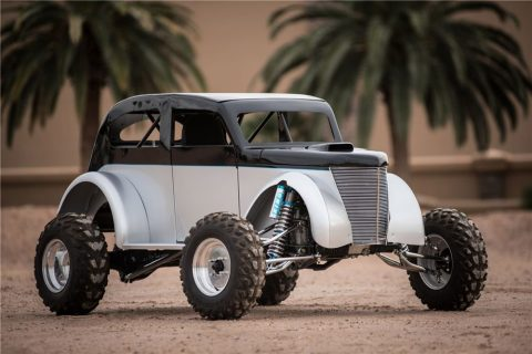 Super Agile 1940 Ford Truck Mini Monster Hot Rod with Kawasaki Ninja 900cc motor for sale