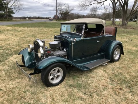 Excellent 1931 Ford Model A Roadtser Convertible Rumble Seat for sale