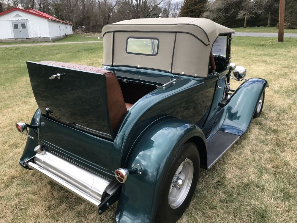 excellent 1931 ford model a roadtser convertible rumble seat for sale. Black Bedroom Furniture Sets. Home Design Ideas
