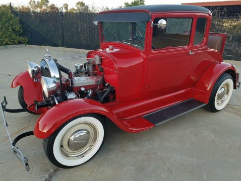 Killer 1929 Ford Model A Little RED HOT ROD for sale