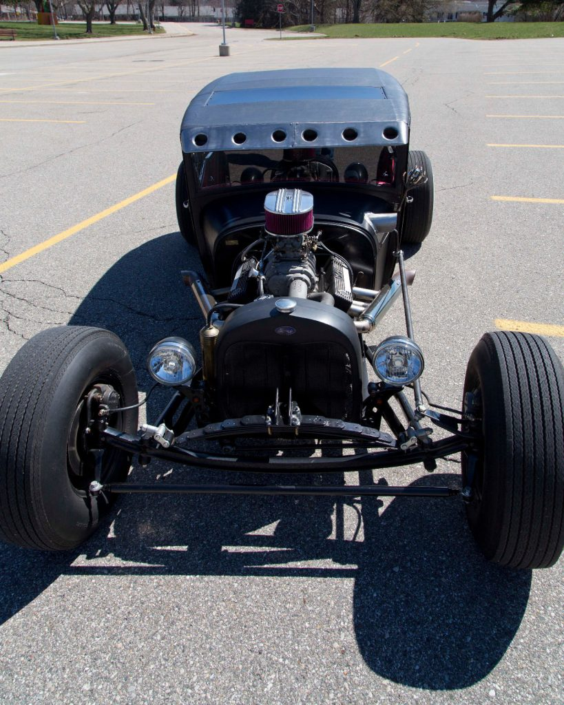 Newly built 1929 Ford Model A hot rod